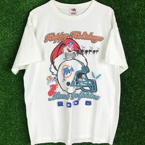 NFL Miami Dolphins Christmas Holidays 2005 Shirt